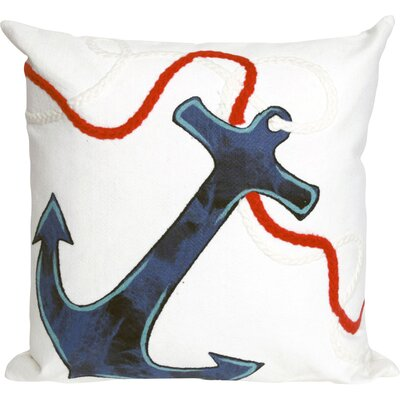 Hartford Anchor Throw Pillow