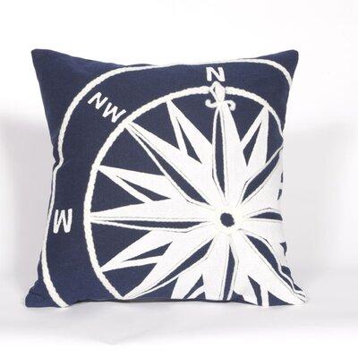 Hartford Compass Throw Pillow