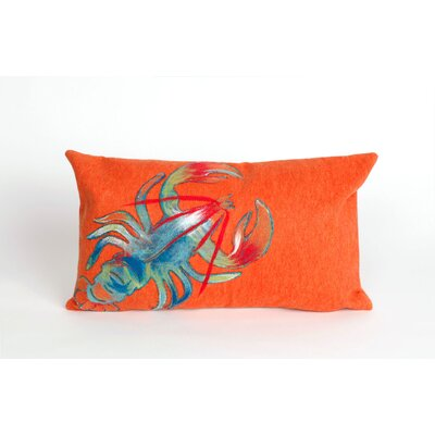 Hartford Lobster Lumbar Pillow