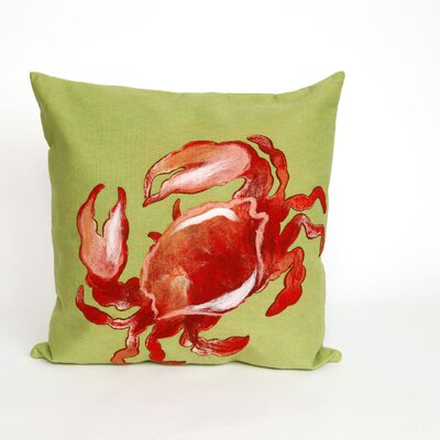 Hartford Crab Throw Pillow