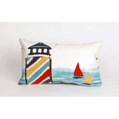 Hartford Lighthouse Lumbar Pillow