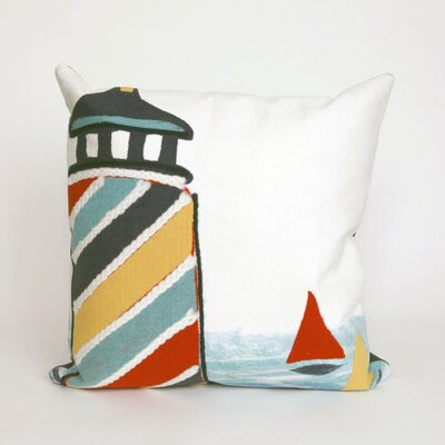 Hartford Lighthouse Throw Pillow