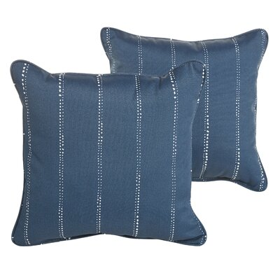 Berwyck Dot Stripe Indoor/ Outdoor Throw Pillow