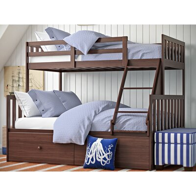 Rosina Twin over Full Bunk Bed with Storage