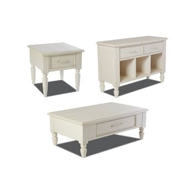 Renner 3 Piece Coffee Table Set