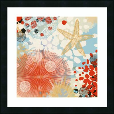 'Exotic Sea Life II' Framed Graphic Art Print