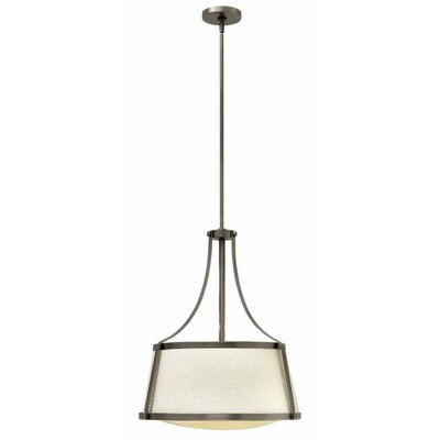 Chipley 3-Light Pendant Finish: Brushed Caramel, Size: 19.75 H x 16 W x 16 D