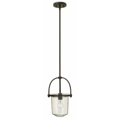 Bolton 1-Light Mini Pendant Finish: Buckeye Bronze