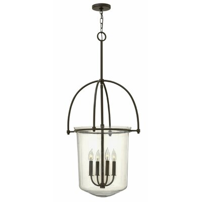 Bolton 4-Light Foyer Pendant Color: Buckeye Bronze