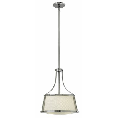 Chipley 3-Light Pendant Size: 19.5 H x 16 W x 16 D