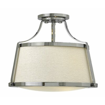 Chipley 3-Light Semi Flush Mount