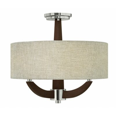 Bardmoor 3-Light Semi Flush Mount