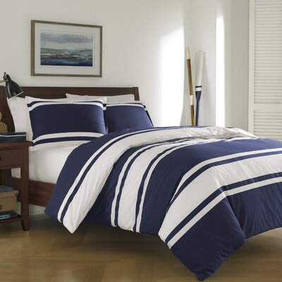 Brookings Reversible Duvet Cover Set Size: Full/Queen