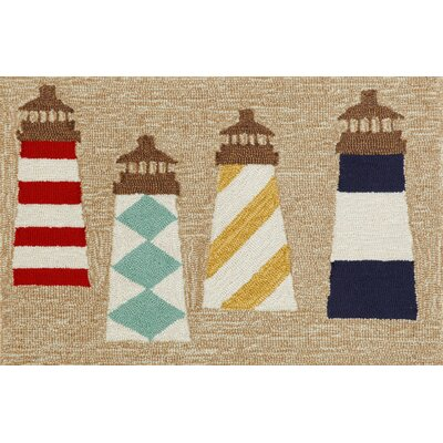 Walton Lighthouses Area Rug