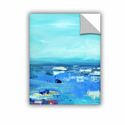 Woodsetter Abstract Harbor 10 Morning on the Water Wall Mural Size: 10