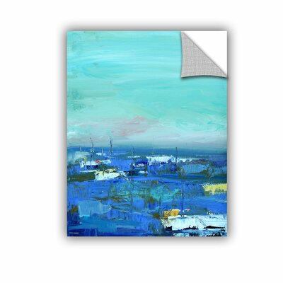 Woodsetter Abstract Harbor 8 by the Water Wall Mural Size: 10