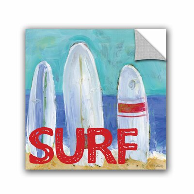 Woodsetter Nautical Surfboards Surf Wall Mural Size: 10