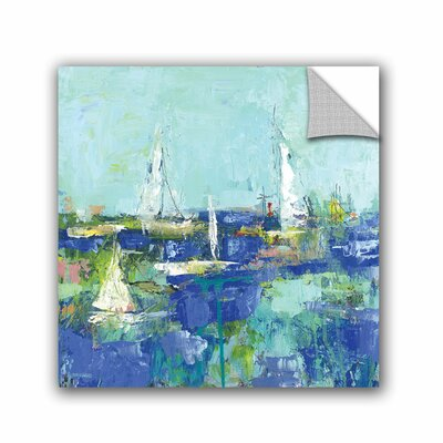 Woodsetter Abstract Harbor 3 Where I Want to Be Wall Mural Size: 10