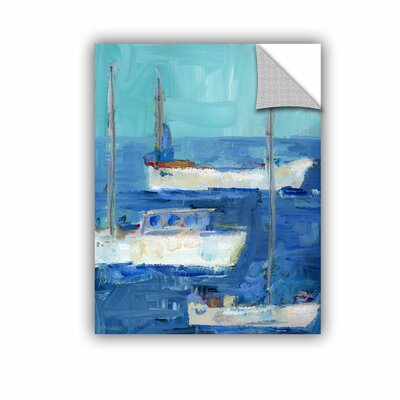 Woodsetter Nautical Boats Wall Mural Size: 10