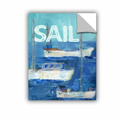 Woodsetter Nautical Boats Sail Wall Mural Size: 10