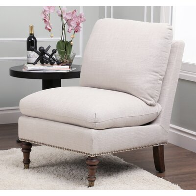 Howe Slipper Chair Color: Grey
