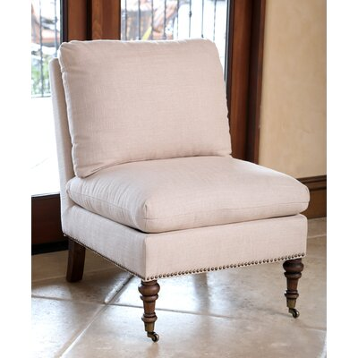Howe Slipper Chair Color: Beige
