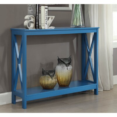 Washington Console Table Finish: Blue