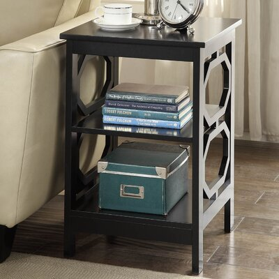 Ardenvor End Table Color: Black