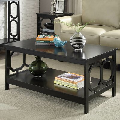 Ardenvor Coffee Table Color: Black