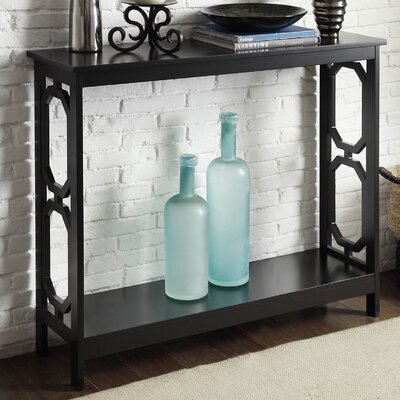 Ardenvor Console Table Finish: Black