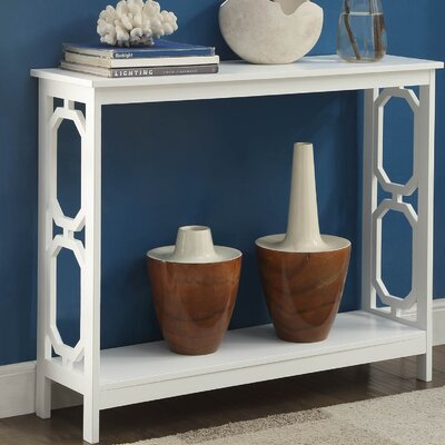 Caryville Console Table Finish: White
