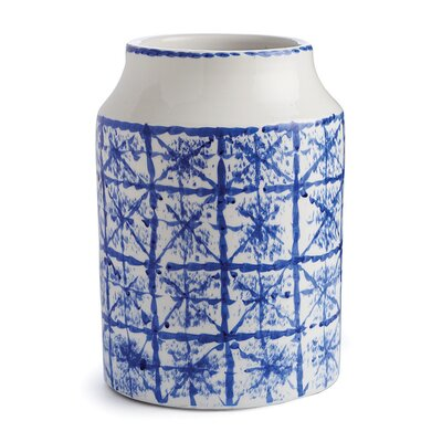 Breakwater Bay Haverhille Blue/White Table Vase