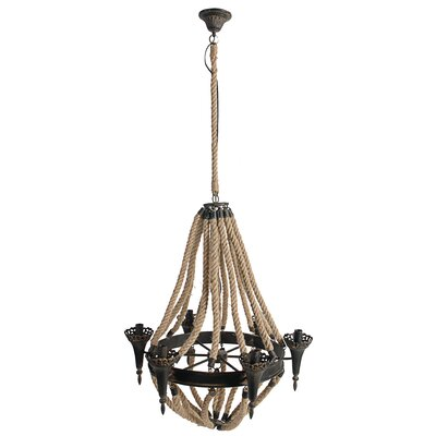 Kynlyn 6-Light Candle-Style Chandelier