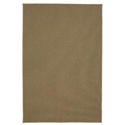 Eisenhower Grid Indoor/Outdoor Natural Area Rug