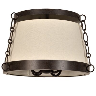 Luna 4-Light Semi Flush Mount