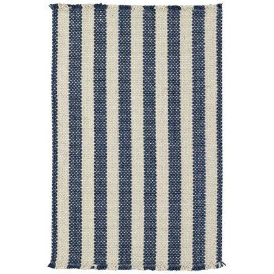 Felton Stripe Blue Area Rug Rug Size: Runner 2 x 8