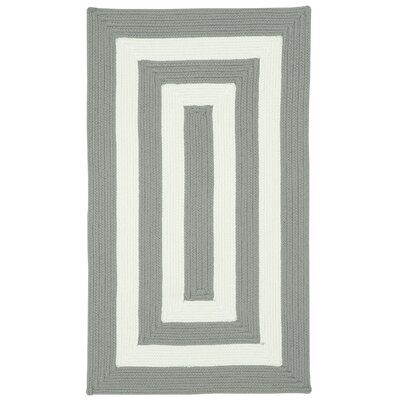 Mitscher Beige Striped Outdoor Area Rug Rug Size: Concentric 18 x 26