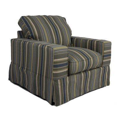 Oxalis Slipcovered Armchair