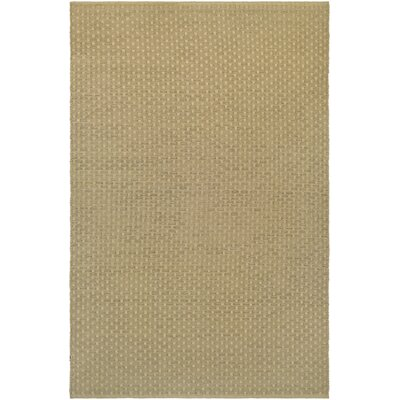 Dewey Hand-Woven Camel Indoor/Outdoor Area Rug Rug Size: 3 x 5