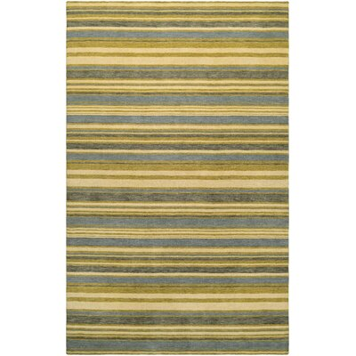 Russell Hand-Knotted Area Rug Rug Size: Rectangle 35 x 55