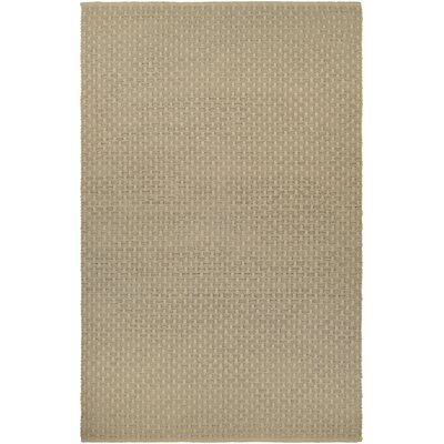 Dewey Hand-Woven Light Cocoa Indoor/Outdoor Area Rug Rug Size: 2 x 3