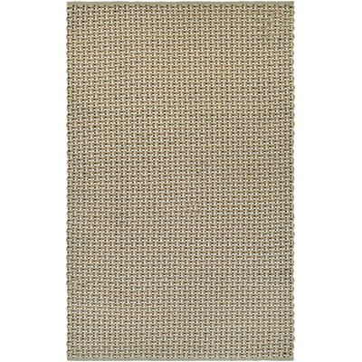 Dewey Hand-Woven Natural Indoor/Outdoor Area Rug Rug Size: 2 x 3