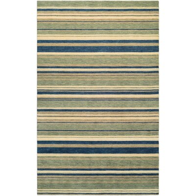 Russell Green Area Rug Rug Size: Rectangle 410 x 710