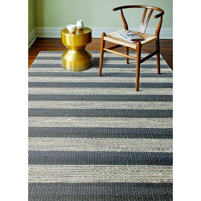 Bluffton Hand-Knotted Navy Area Rug