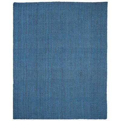 Emery Hand-Woven Blue Area Rug Rug Size: Rectangle 8 x 10