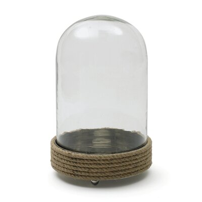 Clear Glass Dome Cloche