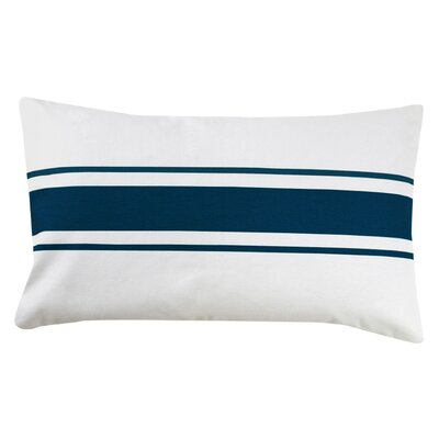 Faraday Striped Cotton Lumbar Pillow