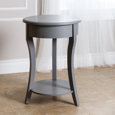 Oliver End Table Finish: Steel Blue