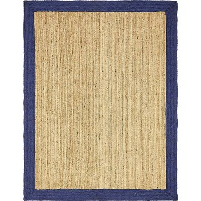 Elsmere Hand-Braided Natural Area Rug Rug Size: 9 x 12