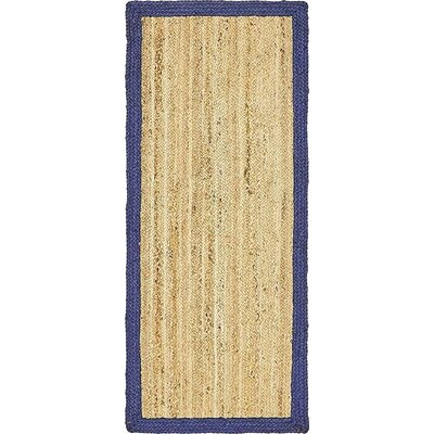 Elsmere Hand-Braided Natural Area Rug Rug Size: Runner 2 6 x 6